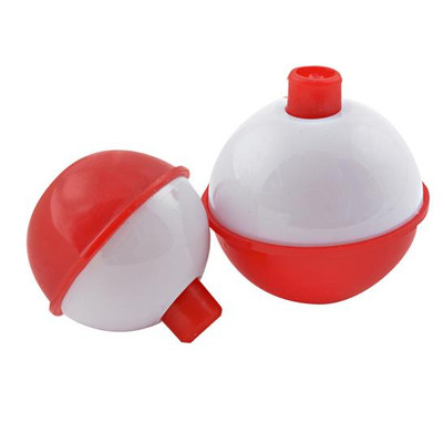 "Fishing Floats 1-1/2"" Red/White 2 Pk"