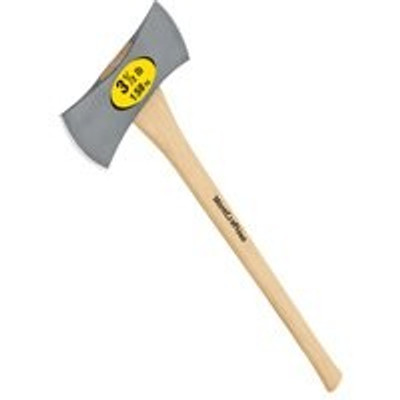 "Michigan Axe, Double Bit 3-1/2 Lb, 36"" Hickory Handle"