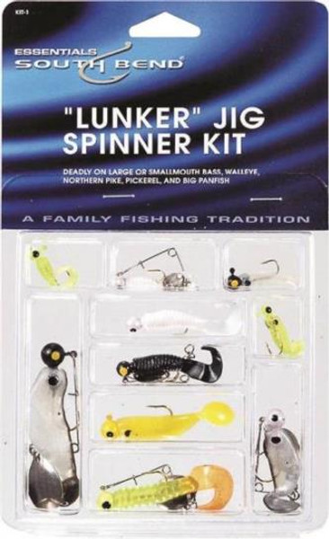 Fishing Lunker Jig/Spinner Assortment Kit