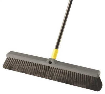 "Push Broom, 24"", Soft Bristle"