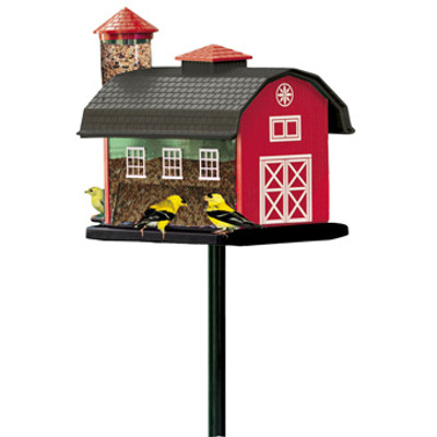 Red Barn Combo Feeder
