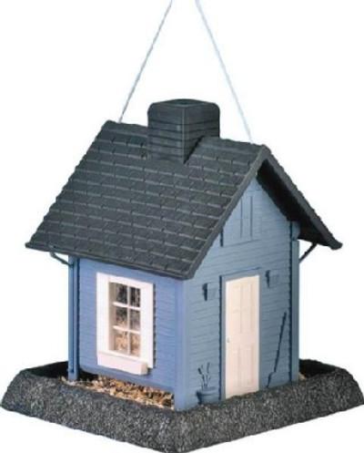 Wild Bird Feeder, Blue Cottage