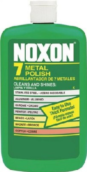Noxon7 6233800117 Metal Polish, 12 oz Bottle, Liquid