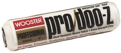 """Wooster """"PRO/DOO-Z"""", 9"""" x 3/8"""" Nap, Paint Roller Cover"""