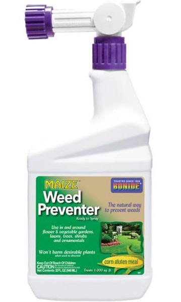 Bonide, Maize Weed Preventer, RTU, Hose End Spray Bottle
