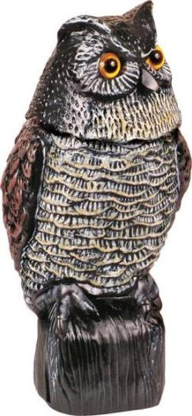 "Owl, Garden Action Defense, 16"" Tall ""Life Like"""