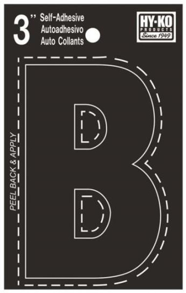 "Boat Letter, ""B"", Die Cut, 3"" High"