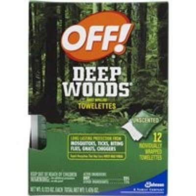 Off Deep Woods Towelettes