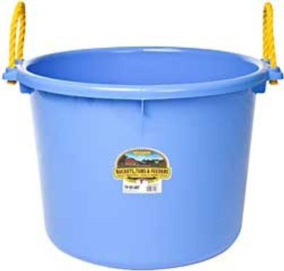 Muck Tub, 70 Quart, Berry Blue