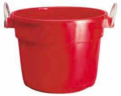 Muck Tub, 70 Quart, Red