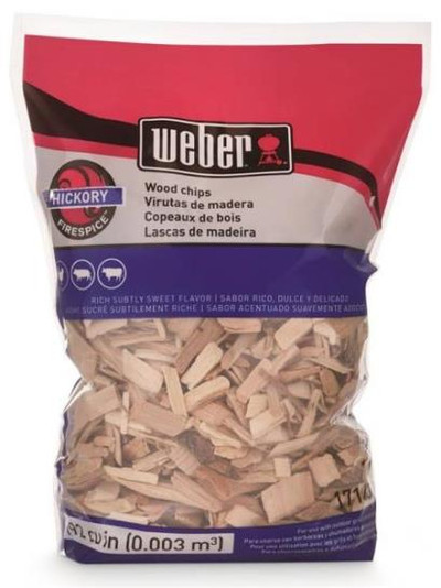 Smoking Wood Chips, Hickory, 2 Lb