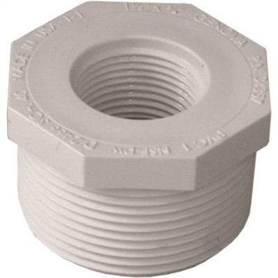 "SCH 40, Threaded Bushing, 1-1/2"" x 3/4"""