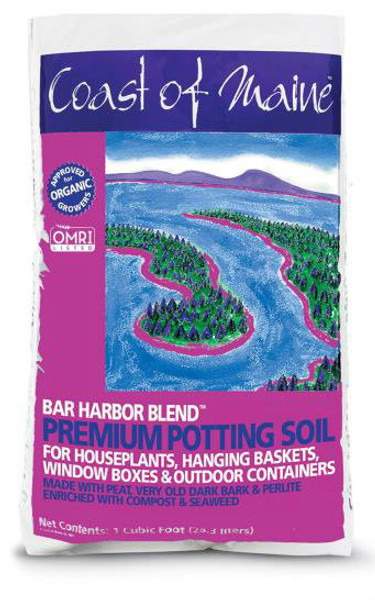 Coast Of Maine, Bar Harbor Potting Soil, 8 Qt