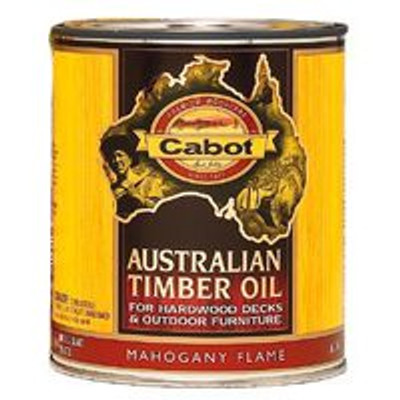 Cabot, Australian Timber Oil, Mahogany Flame, Gallon
