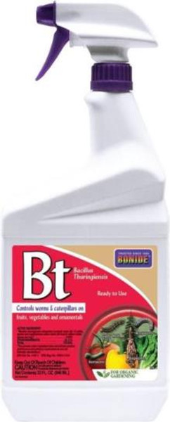 Bonide, Bt, 32 Oz, RTU Pump Spray