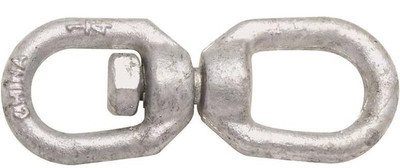 "Swivel, 1/4"", Galvanized,  850 Lb"