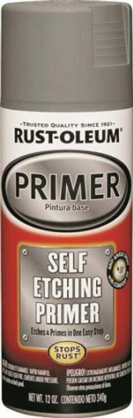 Rust-Oleum, Self-Etching Spray Primer, 12 Oz