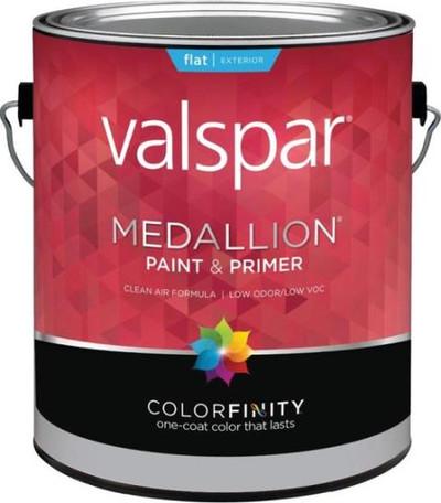 Medallion, 45501, Gallon, Exterior White, 100% Arylic Paint & Prime