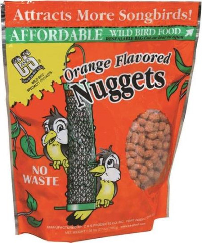 Orange Flavor Suet Nuggets