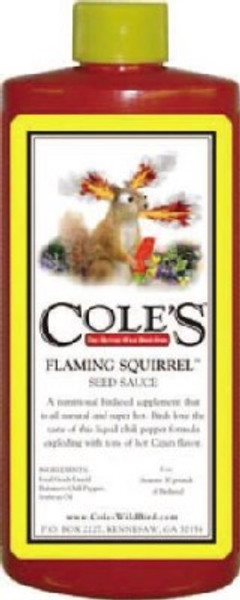 Cole's Flaming Squirrel Sauce