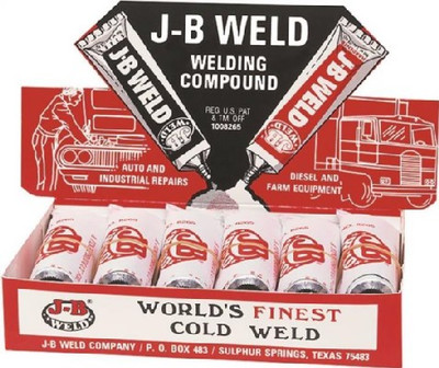 J-B Weld, Cold Welding Compound, 1 oz, Tube, Dark Gray