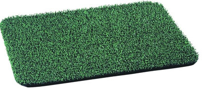 Astro Turf Door Mat, Forest Green