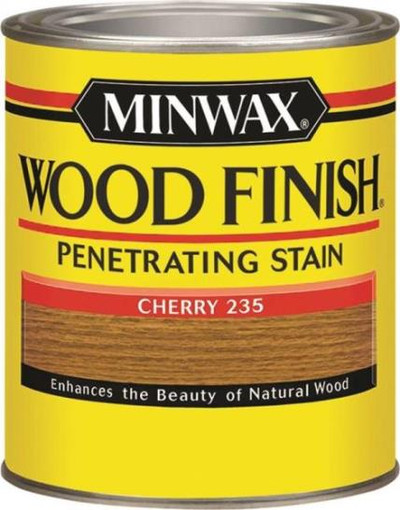 Minwax, Cherry, Wood Stain. Quart
