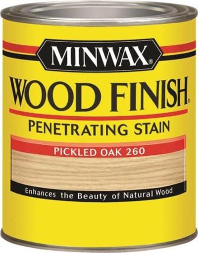 Minwax, Pickled Oak, Wood Stain, Quart