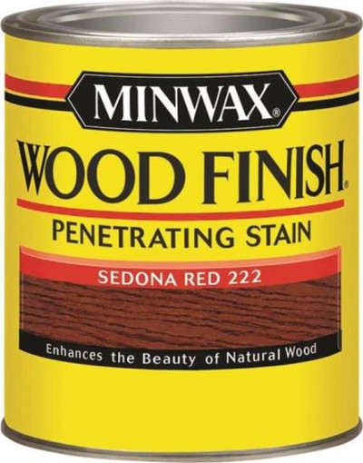 Minwax, Sedona Red, Wood Stain, Quart