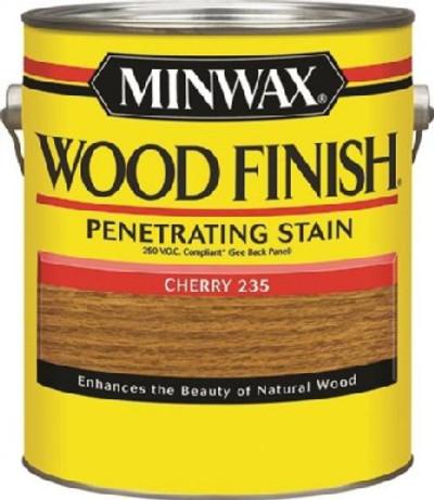 Minwax, Cherry, Wood Stain, 1 Gallon