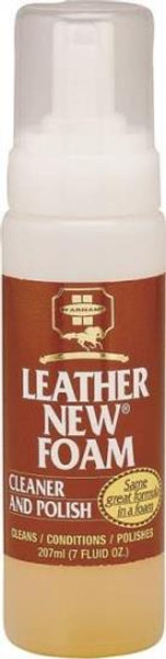 Leather Foam Cleaner & Polish, 7 Oz