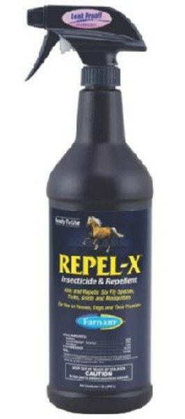 Repel-X Equine Insecticide - Repellent Spray, 1 Qt.