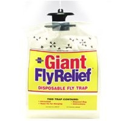Giant Fly Relief, Catches & Hold Up To 20,000 Flys