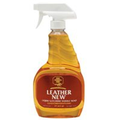 Leather New, Liquid Saddle Soap In A Pump Spray, 16 Oz
