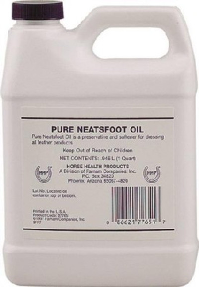 Neatsfoot Oil, 32 oz, Liquid