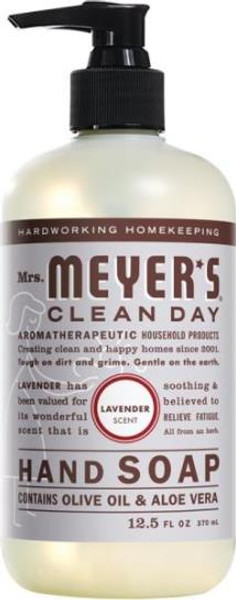 Mrs. Meyers Liquid Hand Soap, 12.5 Oz, Lavender