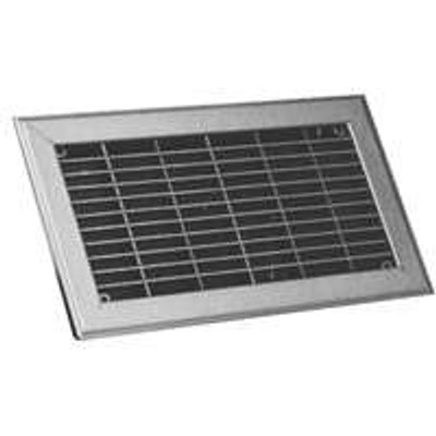 "Floor Return Air Grill 6""X12"" Brown"