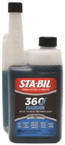Sta-Bil, Marine Formula Fuel Stabilizer, 32 Oz, Blue/Green