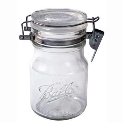Ball, Canning Jar, Wire Bale Jar, 14 Oz