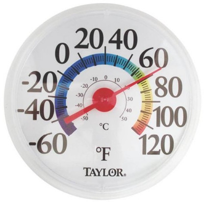 """Thermometer, Outdoor, """"Rainbow"""" 12"""""""