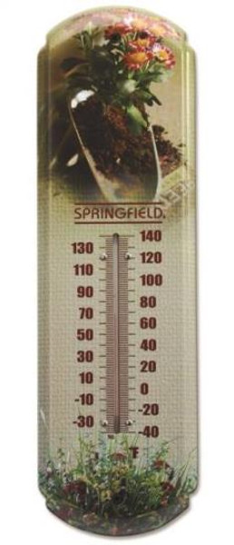"""Thermometer, """"Flowers""""  17"""""""