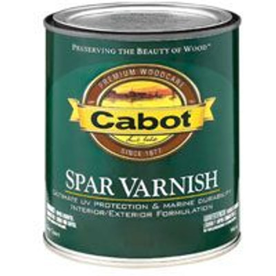 Cabot, 8040, Spar Varnish, Gloss, Quart