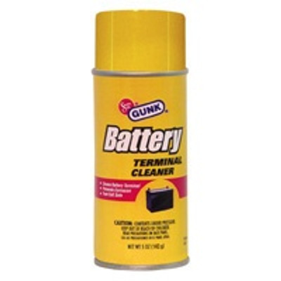 Gunk Model BTC4, Battery Terminal Cleaner, Aerosol Spray, 5 Oz