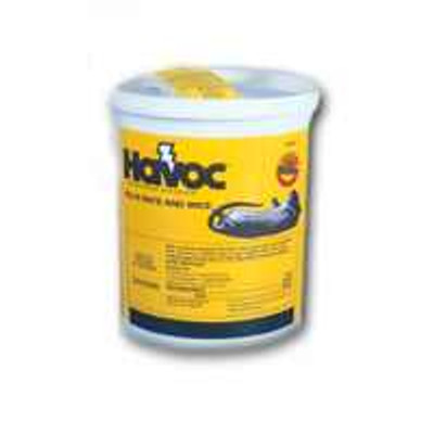 Havoc, Rat & Mouse Bait Packs, Pail Contains 40 Twin Packs