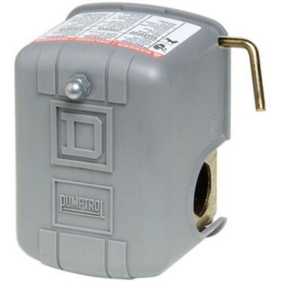 Well Pump Pressure Switch, 20-40 PSI W/Low Pressure Cutoff