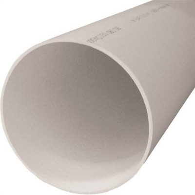 "PVC S&D, 3"" x 10', Pipe, Solid, Bell End"