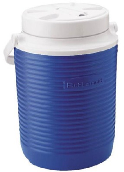 Water Jug With Spout, 1 Gallon, Blue