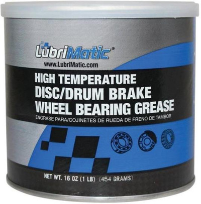 Wheel Bearing Grease, High Teperature,1 Lb Can, Blue