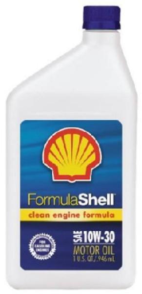 Motor Oil, SAE 10W30, 1 Quart