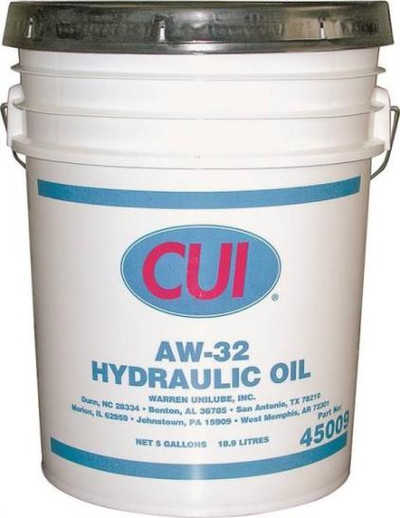 Hydraulic Oil, AW32, 5 Gallon, Tractor Fluid
